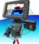 Lowrance Echolot Elite-7 Ti + TotalScan sonda + baterie + nabíječka ZDARMA