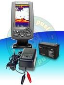 Lowrance Echolot Hook-4X CHIRP + baterie a nabíječka ZDARMA