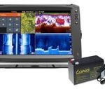 Lowrance Echolot Elite-12 Ti + TotalScan™ sonda + baterie + nabíječka ZDARMA