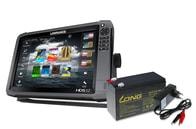 Lowrance Echolot HDS-12 Gen3 + sonda TotalScan + baterie + nabíječka ZDARMA