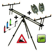 Giants Fishing Stojan Tripod Army 4 Rods + 2x hlásič