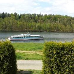 Bungalov U přehrady Hracholusky
